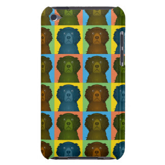 Curly Coated Retriever Dog Cartoon Pop-Art iPod Touch Cover