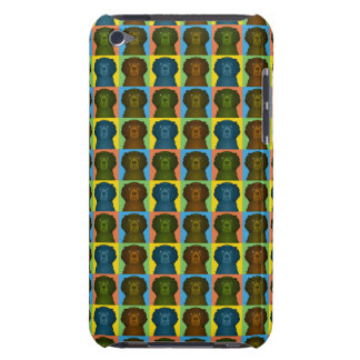 Curly-Coated Retriever Dog Cartoon Pop-Art iPod Touch Cover