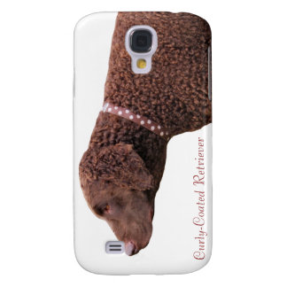 Curly-coated retriever dog iphone 3G case gift Samsung Galaxy S4 Covers