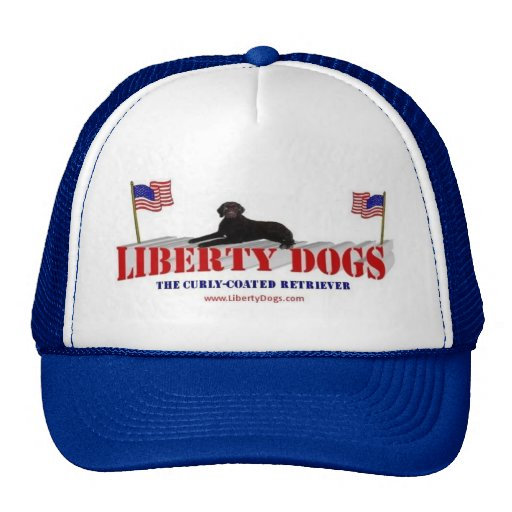 Curly Coated Retriever Mesh Hats