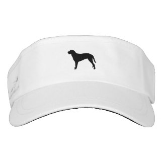 Curly Coated Retriever Silhouette Love Dogs Visor