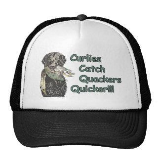 Curly Coated Retrievers Catch Quackers Quicker! Cap