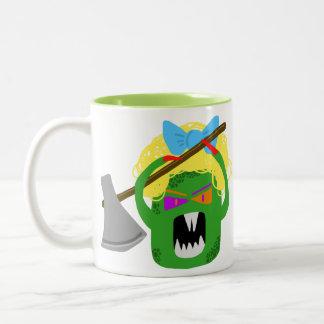 Curly Creep Two-Tone Mug