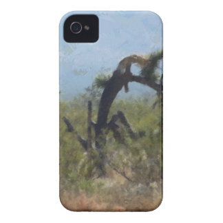 Curly Desert Tree iPhone 4 Case-Mate Cases