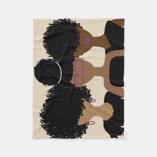 Curly Girl Trio blanket