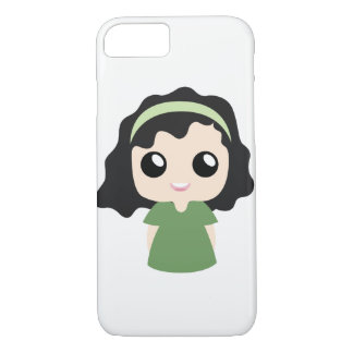 Curly Hair Girl iPhone 8/7 Case