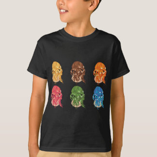 Curly Hair Styles T-Shirt