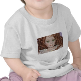 Curly Haired Doll Tees