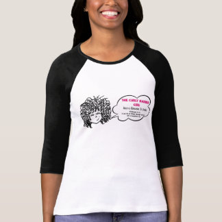 Curly Haired Girl Phillipians 4:13 Scripture Shirt