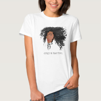 Curly is Beautiful! Tees