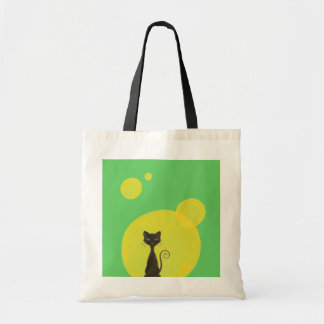 Curly Kitty & Moon Bag