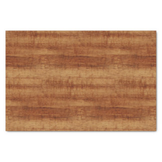 Curly Koa Acacia Wood Grain Look Tissue Paper