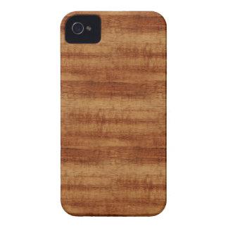 Curly Koa Wood Grain Look iPhone 4 Cover