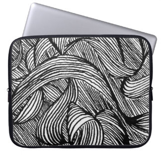 curly LINEs Laptop Sleeve