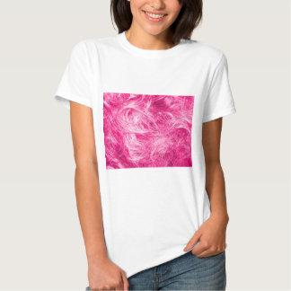 Curly Pink Hair Tshirts