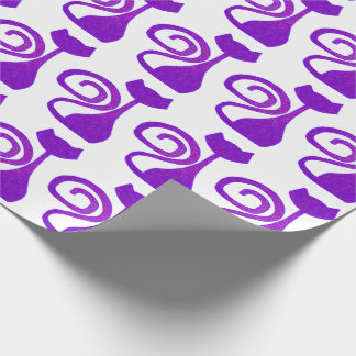 Curly-Tail Cat Gift Wrap Wrapping Paper
