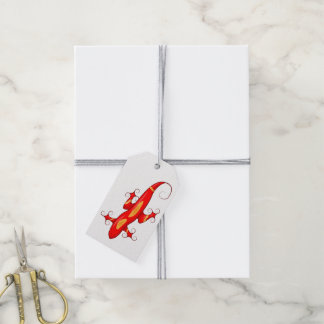 Curly-Toed Lizard Gift Tags