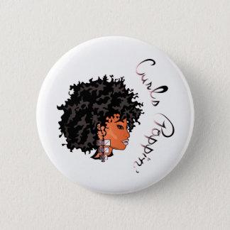 "CURLZ ""LIZA CURLS POPPIN"" Button"