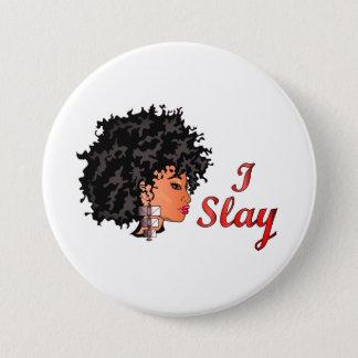 "CURLZ ""LIZA I SLAY"" Button"