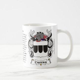 Curran Family Coat of Arms Mug