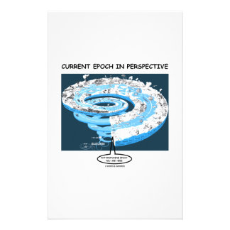 Current Epoch In Perspective Anthropocene Epoch Personalized Stationery