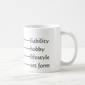 Current geek level basic white mug