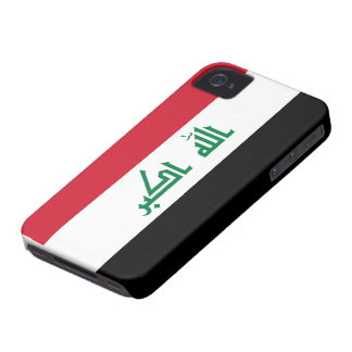 Current National Flag of Iraq Case-Mate iPhone 4 Cases