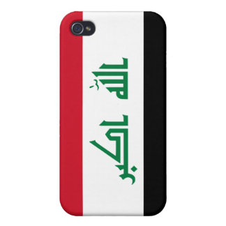 Current National Flag of Iraq Covers For iPhone 4
