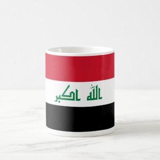 Current National Flag of Iraq Basic White Mug