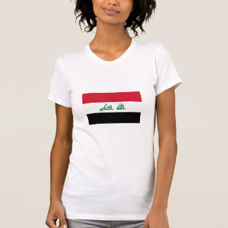 Current National Flag of Iraq Tee Shirt