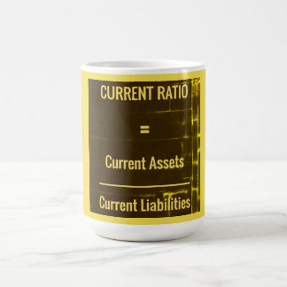 """Current Ratio"" Coffee Mug"