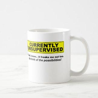 Currently Unsupervised Funny Mug