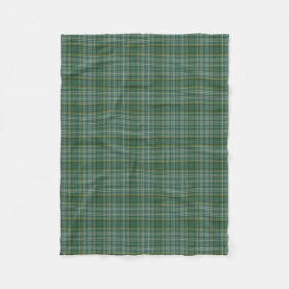 Currie Clan Tartan Plaid Fleece Blanket