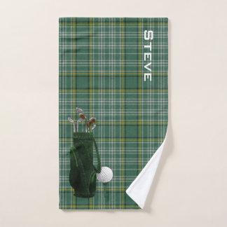 Currie Plaid Golf Towel