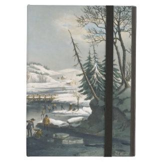 Currier and Ives Winter Morning iPad Air Covers