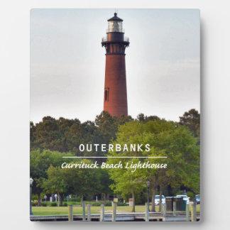 Currituck Beach Light Plaque