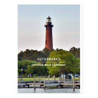 Currituck Beach Light. Postcard