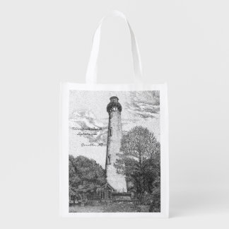 Currituck Beach Lighthouse Reusable Bag