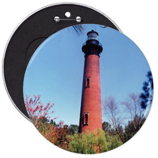 Currituck Lighthouse 6 Cm Round Badge