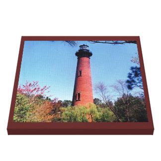 Currituck Lighthouse Gallery Wrap Canvas