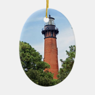 Currituck Lighthouse Christmas Ornament