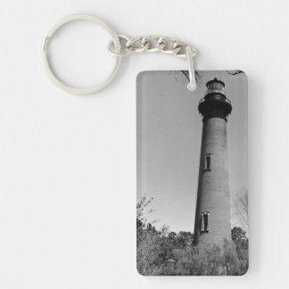 Currituck Lighthouse Double-Sided Rectangular Acrylic Key Ring
