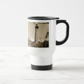 Currituck Lighthouse Stainless Steel Travel Mug