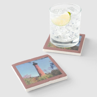Currituck Lighthouse Stone Coaster