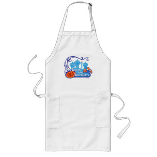 'Curry is my Chocolate' Apron in Aqua