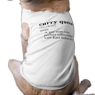 CURRY QUEEN DOGGIE TSHIRT
