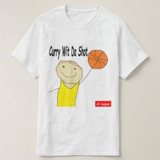 Curry Wit Da Shot Track Art T-Shirt