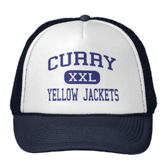 Curry - Yellow Jackets - High - Jasper Alabama Cap