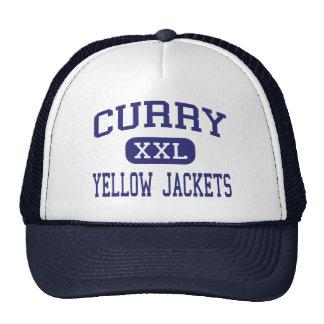 Curry - Yellow Jackets - High - Jasper Alabama Mesh Hats
