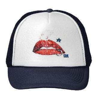 Curse & Kisses bubbly lips hat
